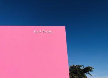 アメリカ旅行第5章 Paul Smithのピンクの壁