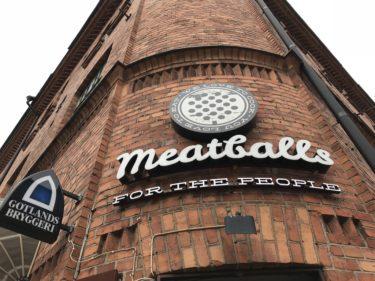 【北欧一人旅】スウェーデン編 ミートボールの聖地 Meatballs For The Peopleへ