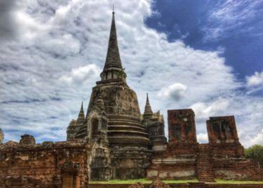 タイ一人旅 第5章 アユタヤでバイクにひかれて死にかけた